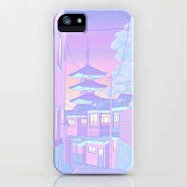 Pastel Memories iPhone Case