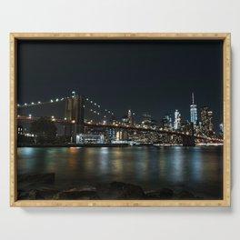 Manhattan Skyline Serving Tray