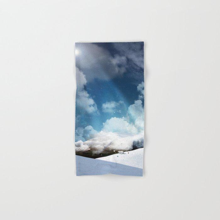 THE WHITE ODYSSEY OF HUAÏA Hand & Bath Towel