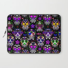 Candy Skulls Laptop Sleeve