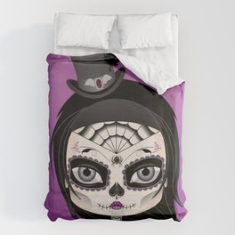 She's In Parties Duvet Cover