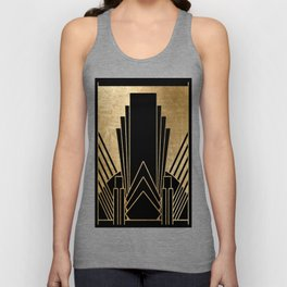 Art deco design Unisex Tank Top