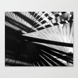Crossed Palms Canvas Print