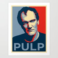 pulp Art Prints featuring Pulp! by LilloKaRillo