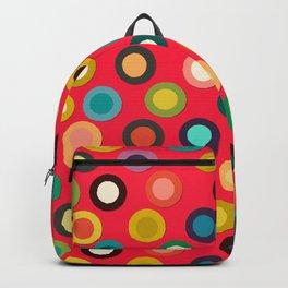 red pop spot Backpack