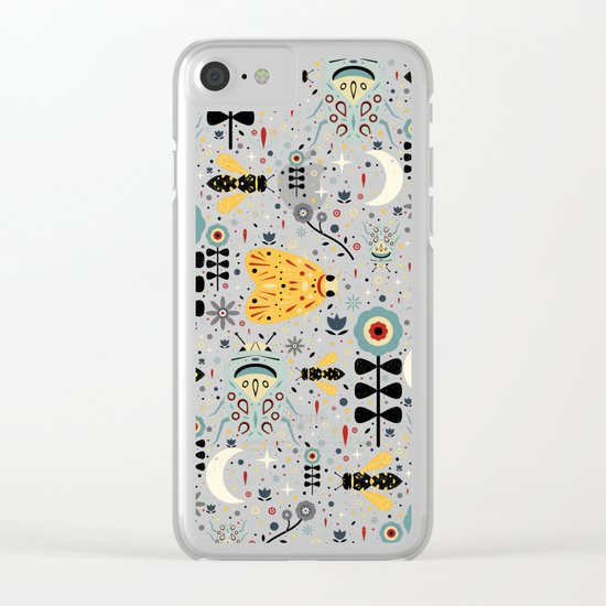 Midnight Bugs  Clear iPhone Case