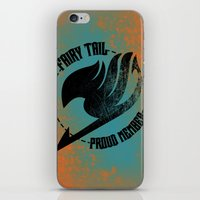 fairy tail iPhone & iPod Skins featuring Fairy Tail  by KisaSunrise