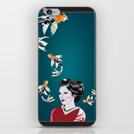 Koi's in and out of my Mind iPhone Skin