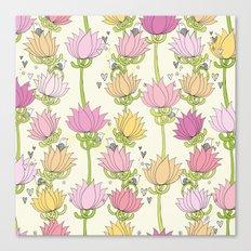 Lotsa Lotus Love Canvas Print