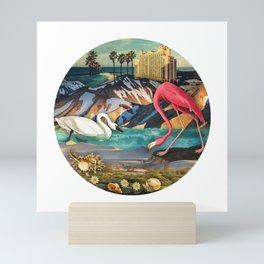 Birds of America :: Flamingo Hotel Mini Art Print