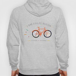 I Bike Coulee Region LaCrosse, WI Hoody
