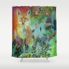 i am the forest path Shower Curtain