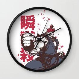 Akuma Gouki street fighter Wall Clock
