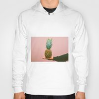 pineapples Hoodies featuring Pineapples! by Brandon Price