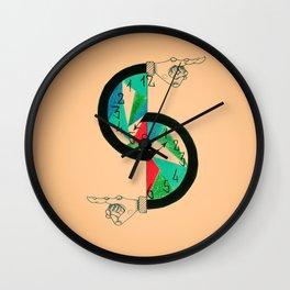 It's a Trap! Wall Clock