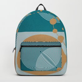Law Of Attraction - Abstract Geometric Circles Backpack