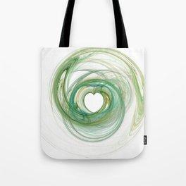 Valentine's Fractal VIII - Light Tote Bag