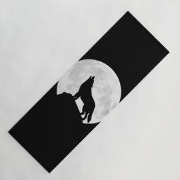 Howling Wolf - Moon Yoga Mat