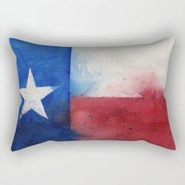Flag of Texas Rectangular Pillow