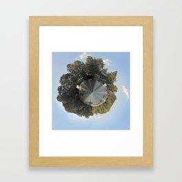 Slater Planet Framed Art Print
