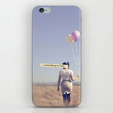 (EVERYTHING IS FINE) iPhone & iPod Skin