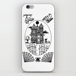 Ominous Victorian House iPhone Skin