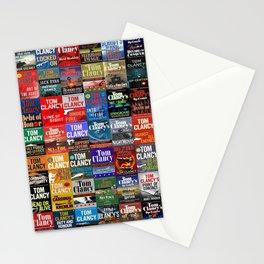 Tom Clancy Books Stationery Cards