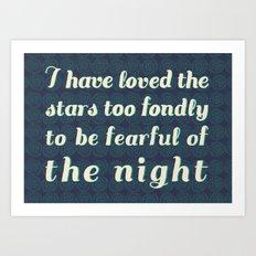 Love the Stars Art Print