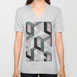geometric 11 Unisex V-Neck