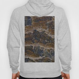 Mountain shapes seen from above Hoody