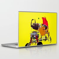 evil Laptop & iPad Skins featuring EVIL CAR by kasi minami