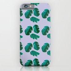 Monster tropical plants iPhone 6s Slim Case