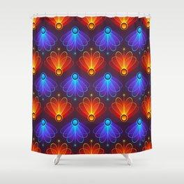 Fireflies Shower Curtain