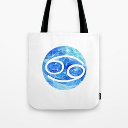 Cancer . Sign of the zodiac. Tote Bag