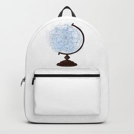 Floral globus Backpack