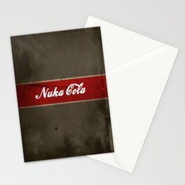 Nuka Cola Stationery Cards