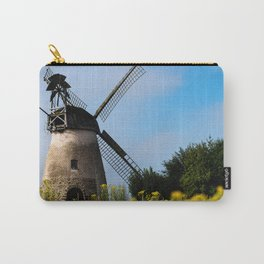 North German windmill from old time Carry-All Pouch