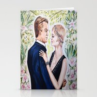 gatsby Stationery Cards featuring GATSBY - DAISY by Sam Parigi