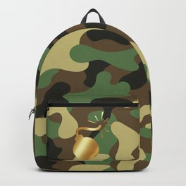 CAMO & GOLD BOMB DIGGITY Backpack