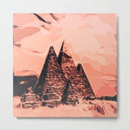 pyramid egypt monumental Metal Print