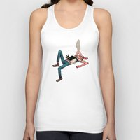 musa Tank Tops featuring roof by musa