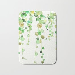 Behind the Vines Bath Mat