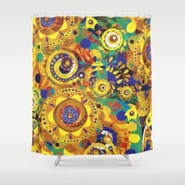 Pra Oxum Shower Curtain