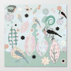 peep it's springtime Canvas Print