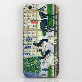 Carriage Ride on Woodward Avenue iPhone Skin