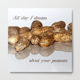 All day I dream Metal Print