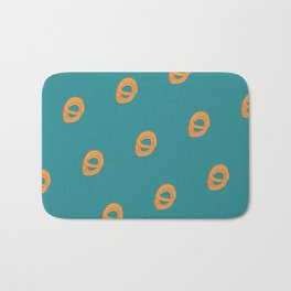 Jalebi Pattern- Teal Bath Mat