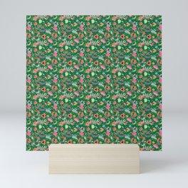 Batik Kebaya Green SQ Mini Art Print