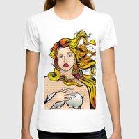 lichtenstein T-shirts featuring VENUS ARTPOP by Alli Vanes