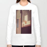 basketball Long Sleeve T-shirts featuring Basketball by KimberosePhotography